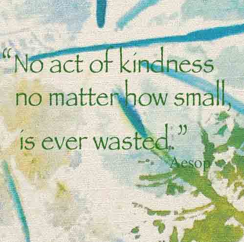 Act of kindness quote adventschallenge