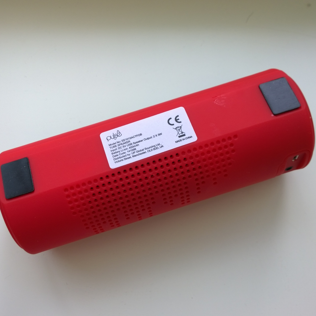 Pulse bluetooth speaker action