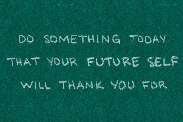 Anderen tevreden stellen future you