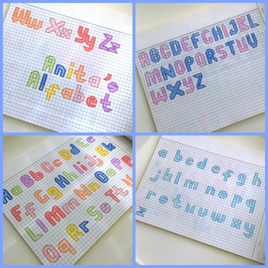 Anitas alfabet mindjoy