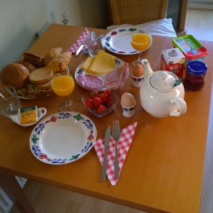 B&B bakhuisje Ees ontbijt