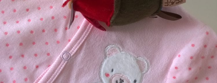 babypakje zeeman gekleurde speelbal