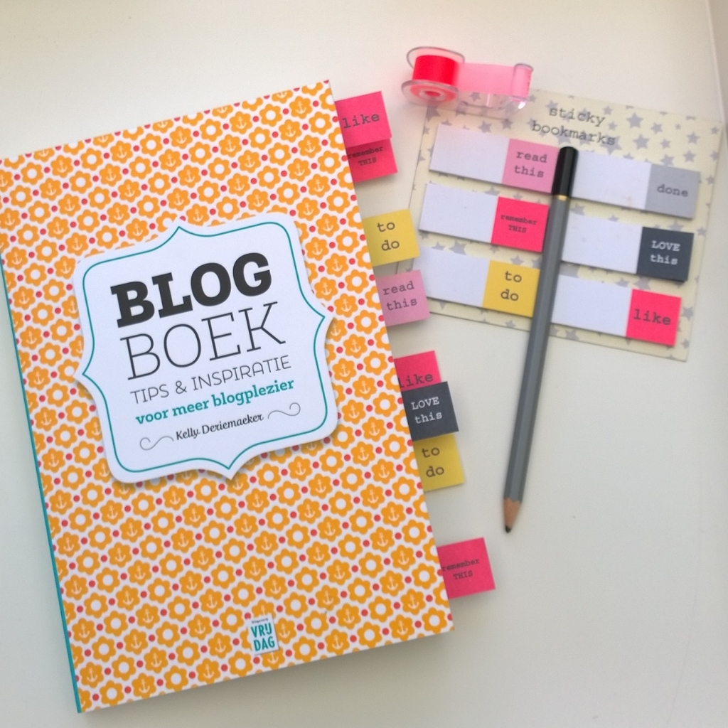 Blogboek kelly deriemaeker