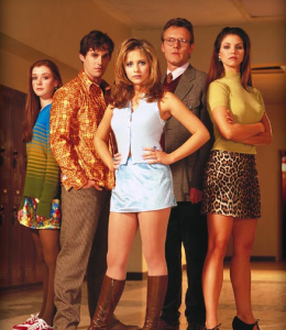Buffy the vampire slayer tienerserie