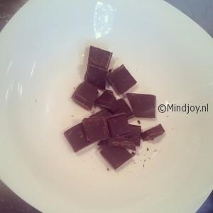 Chocolade au bain-marie smelten