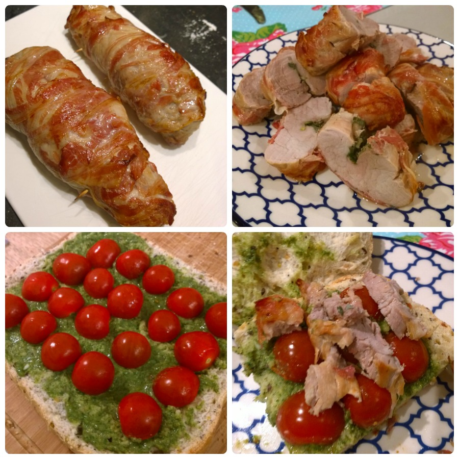 ciabatta porchetta salsa verde kookclub