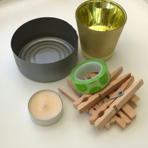 DIY washi tape kaarsenhouder