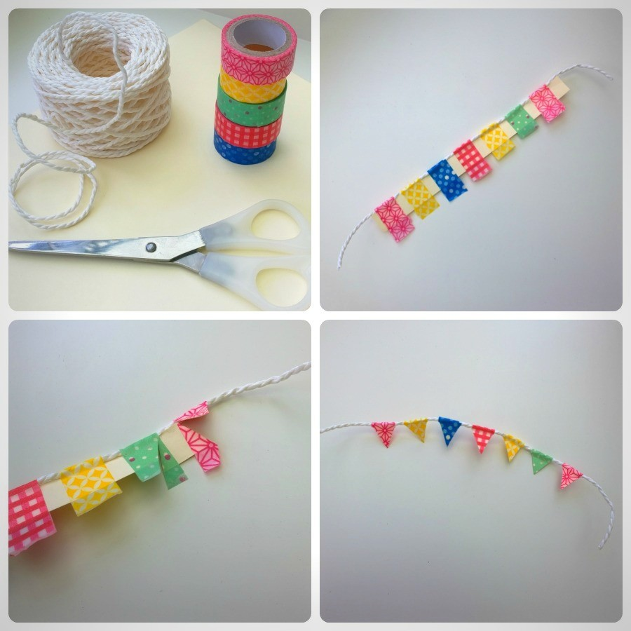 DIY wash tape slinger