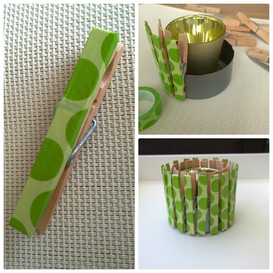 DIY wasknijpers washi tape