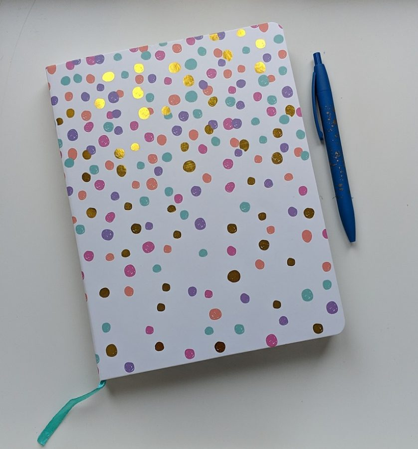 Dagboek dotted papier mindjoy