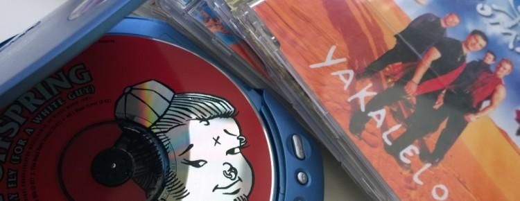 Discman cd's jaren 90 mindjoy