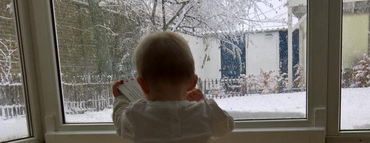 Dochter mindjoy sneeuw december 2017