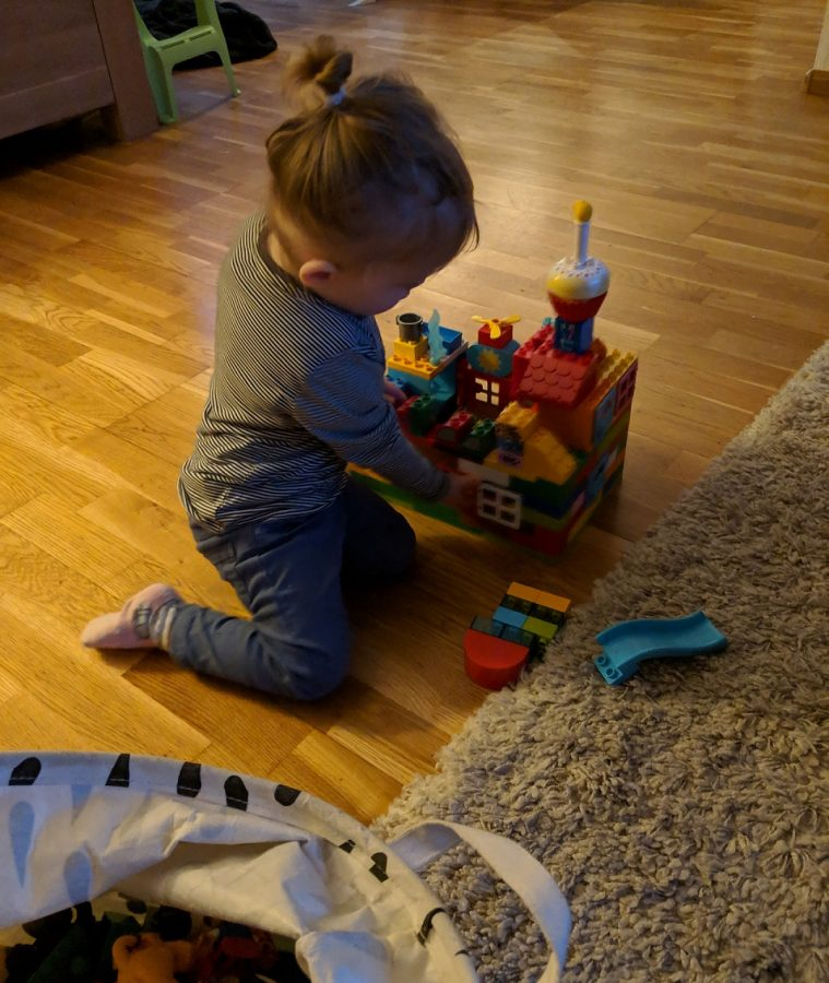 Dochter mindjoy spelen duplo