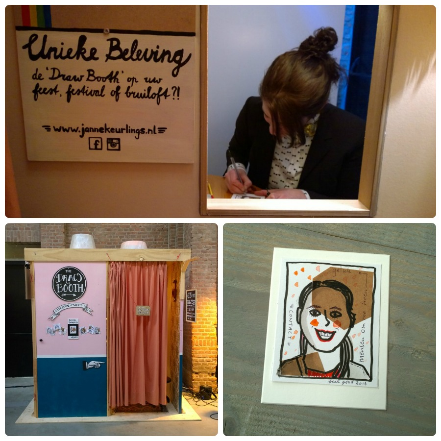 Draw booth Janne Keurlings feel good
