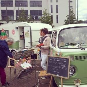 FeelGood market Eindhoven Flowmagazine caravan