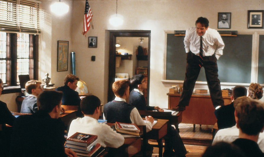 Film Robin Williams dead poets society