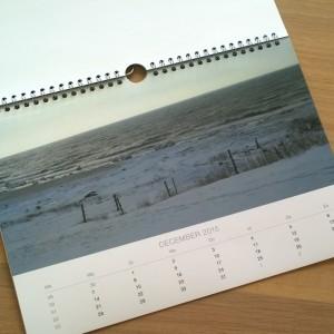 Fotofabriek jaarkalender bestempeld acceptabel