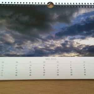 Fotofabriek jaarkalender foto bestempeld slecht