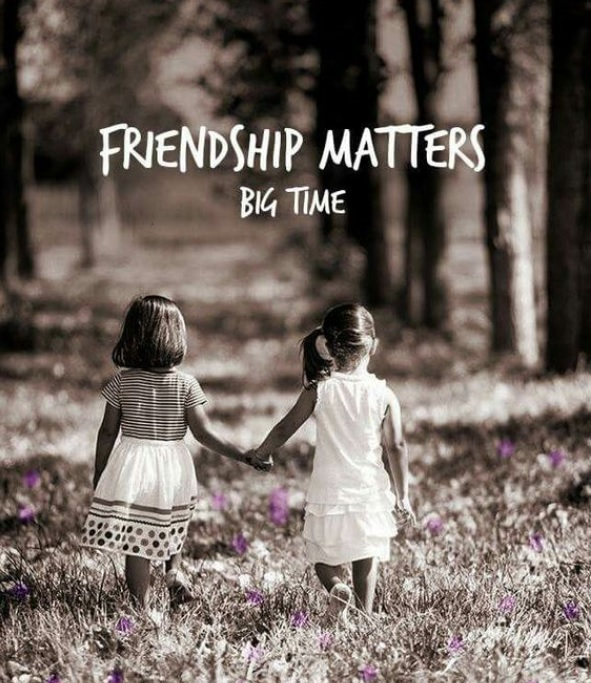 Friendship matters quote