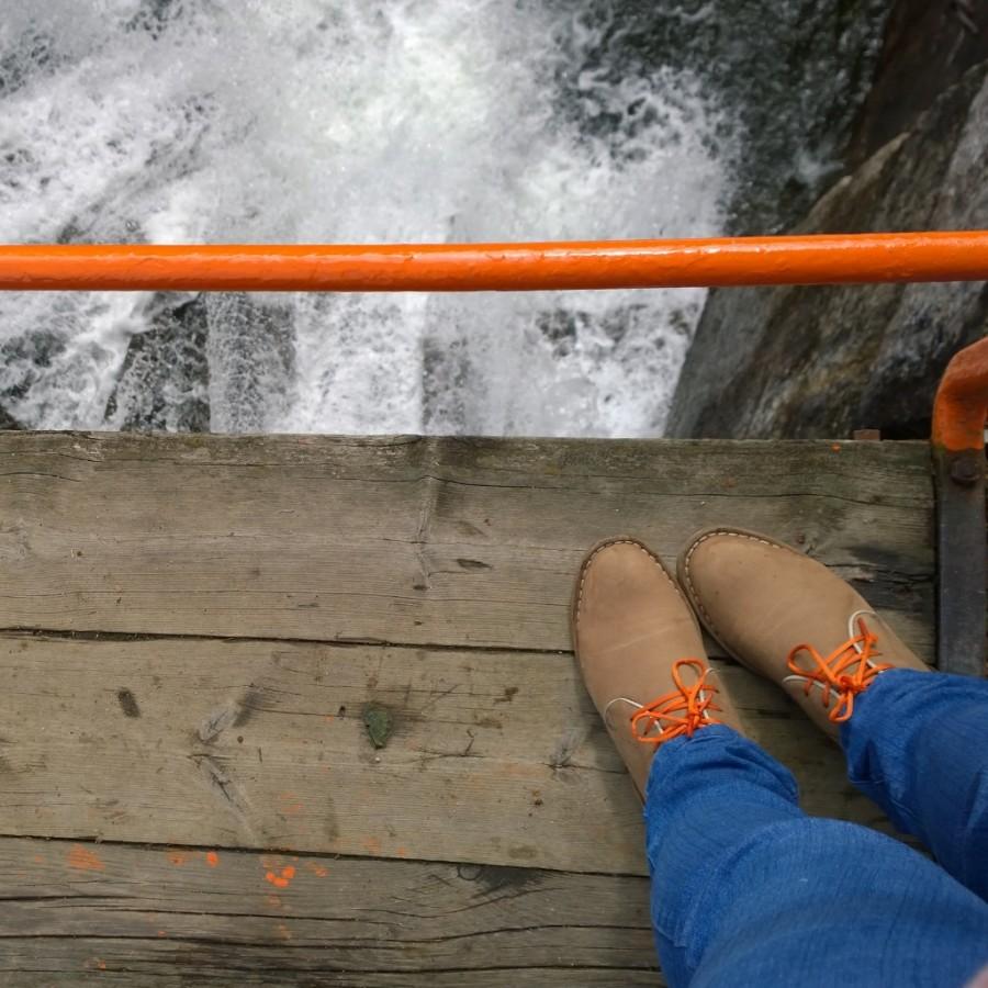 From where I stand Vrangfoss bridge