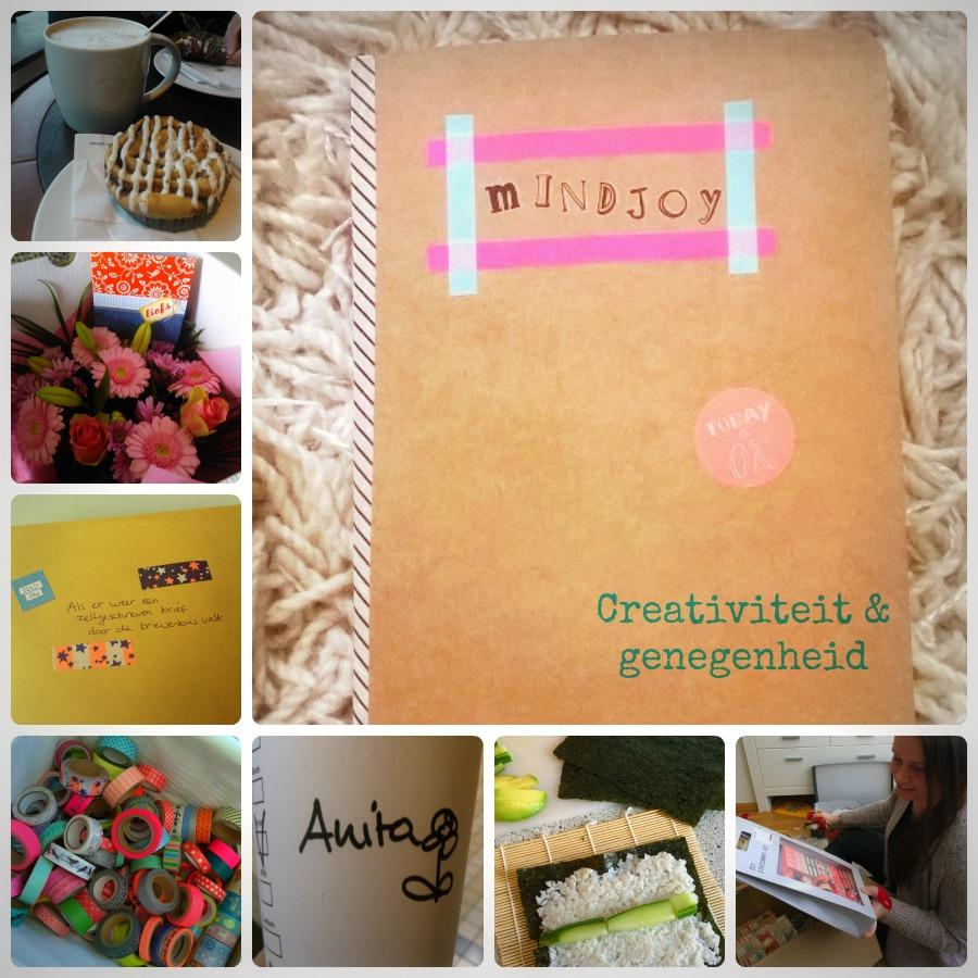Geluk creativiteit genegenheid mindjoy