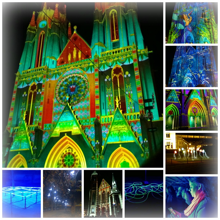 Glow Eindhoven 2014 collage