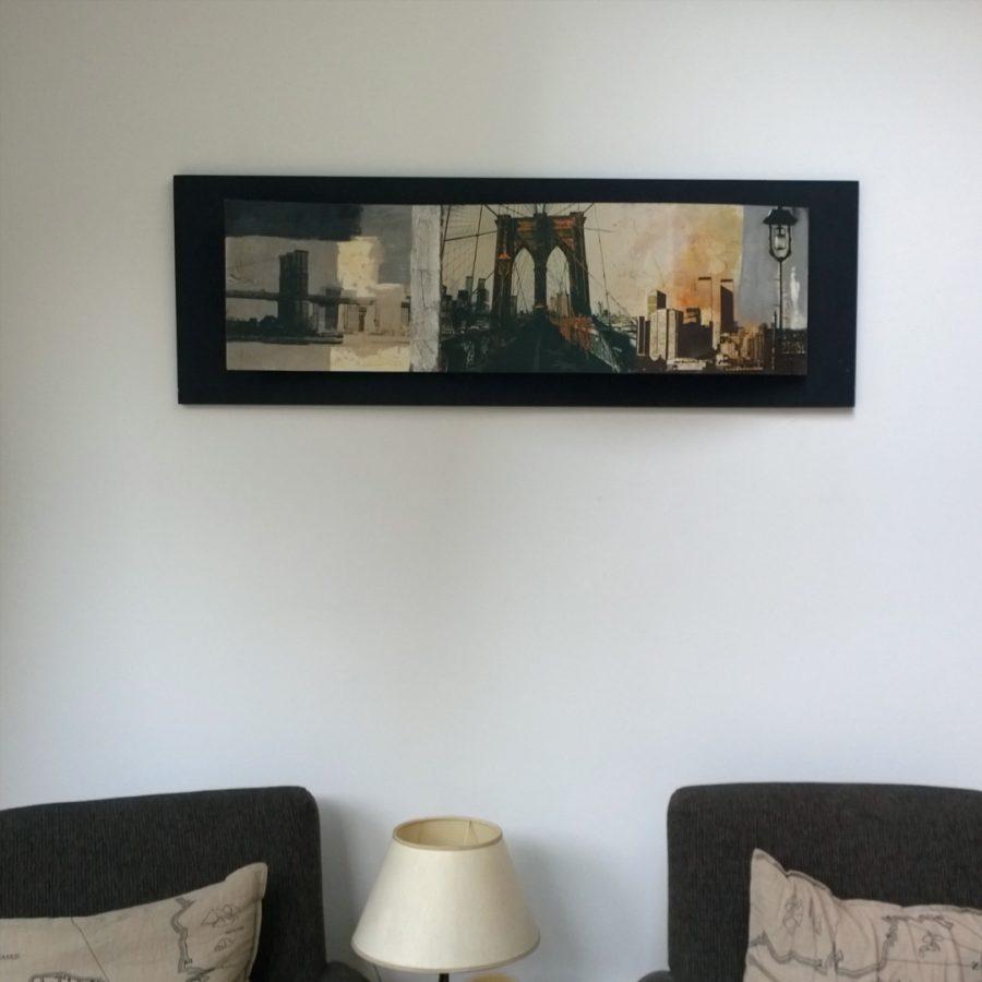 Golvend schilderij new york serre mindjoy