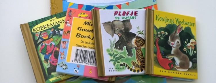 Gouden boekjes mini blokboekje