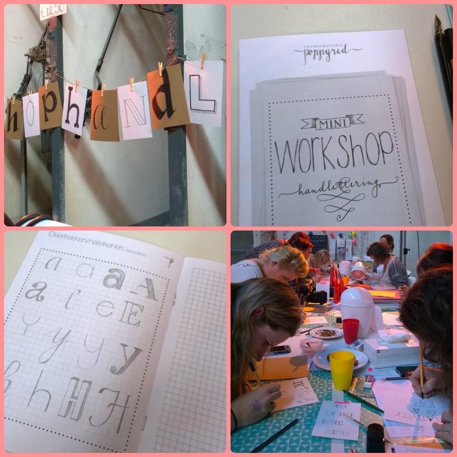 Handlettering workshop poppyred