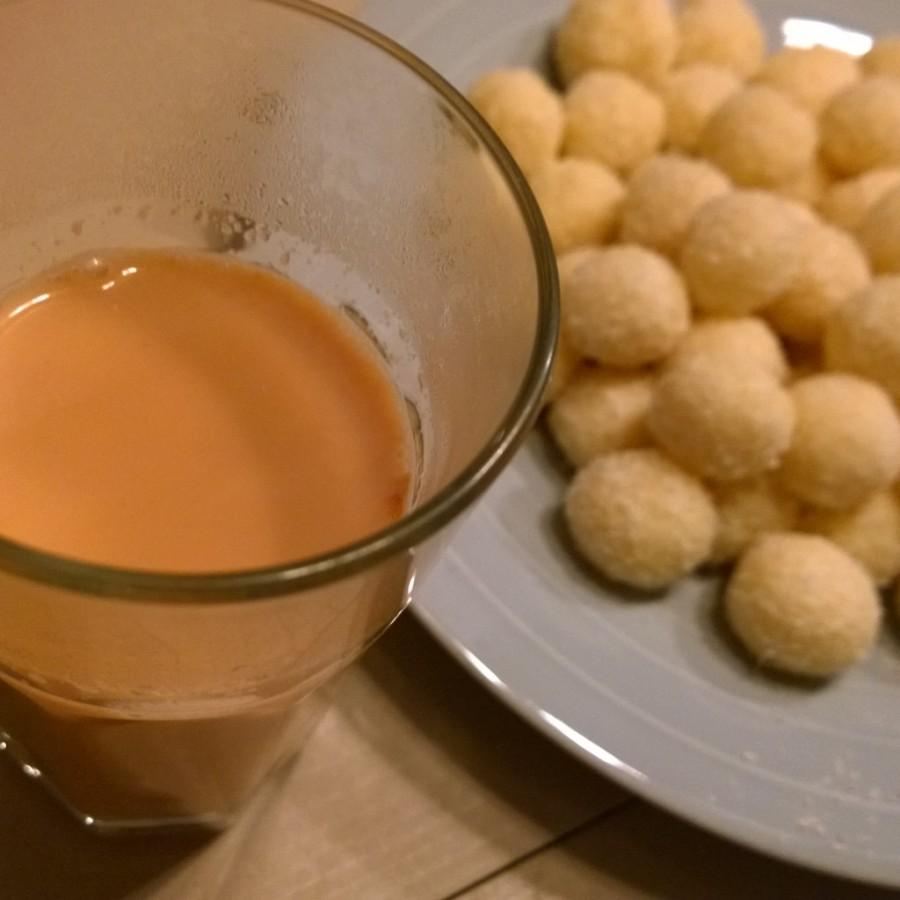 Heerlijke chai tea kokoskaramal kookclub