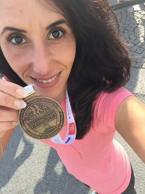 Hoe mindful is Nesrin hardlopen Istanbul marathon