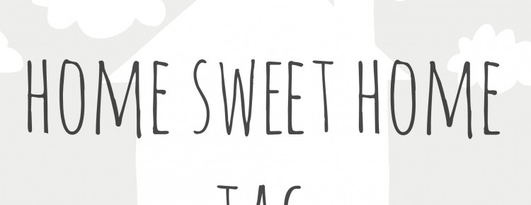 Home sweet home tag logo