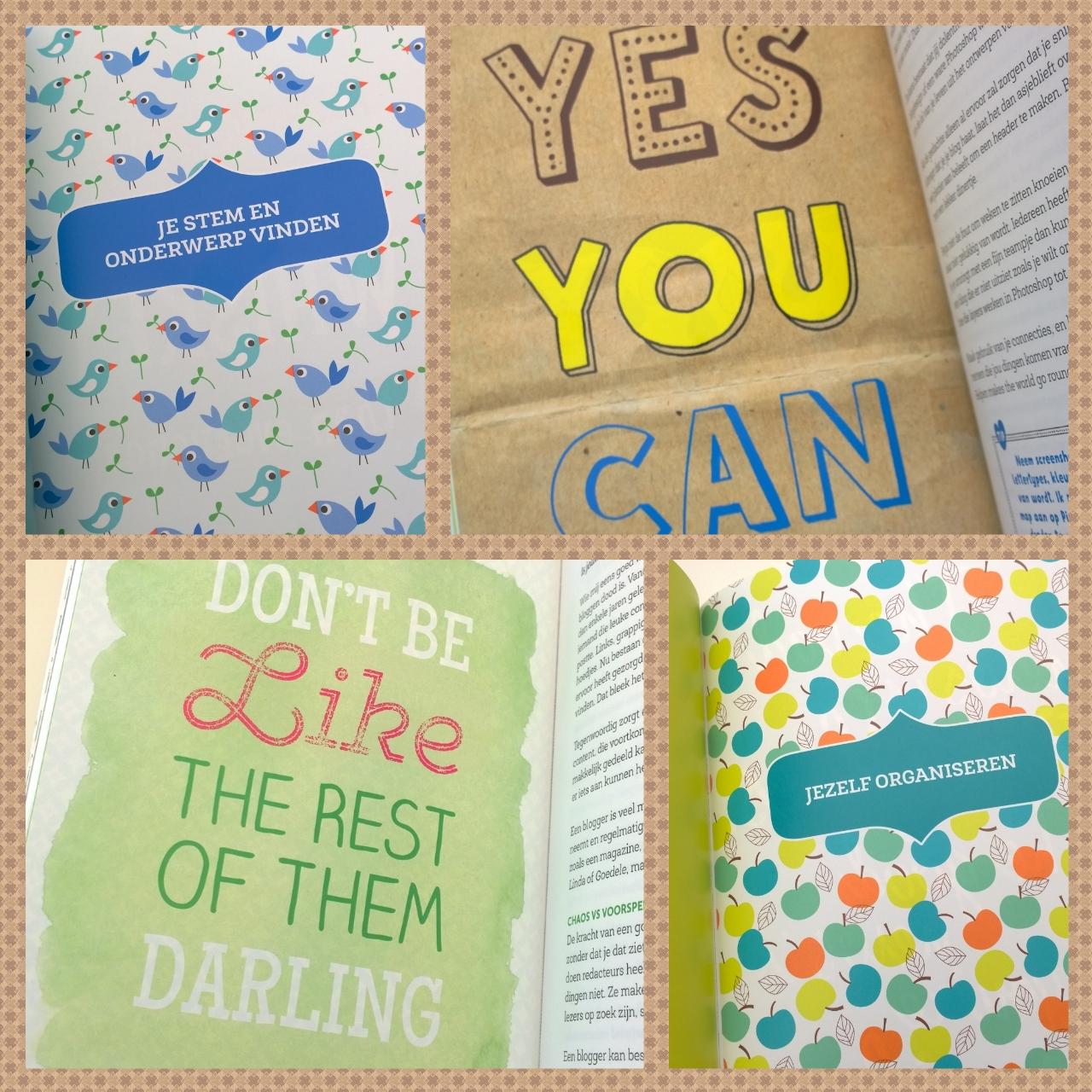 Hoofdstukken quotes blogboek Kelly Deriemaeker