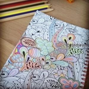 Kleurboek voor volwassenen potlood