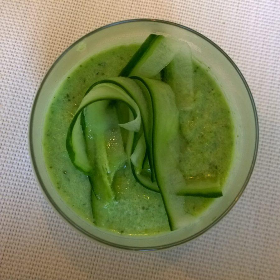 Komkommersoep kokos