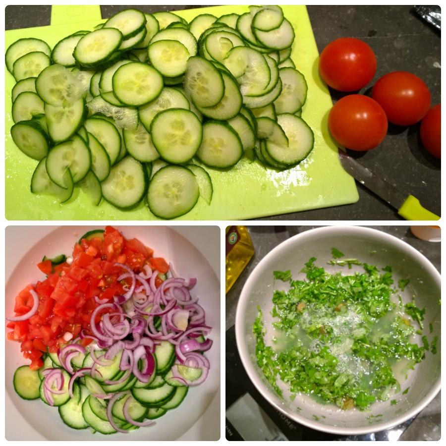 kookclub komkommer salade jamie magazine