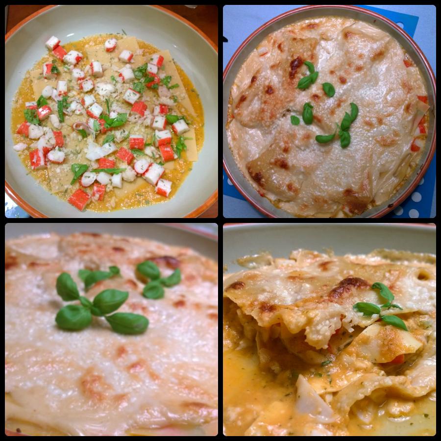 Kookclub lasagne surimi kabeljauw mindjoy