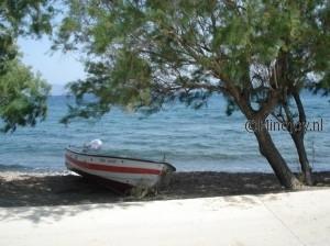 Lesbos Griekenland molivos strand