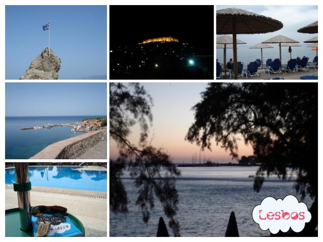 Lesbos griekenland molivos omgeving