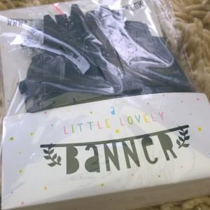Little lovely banner pakket