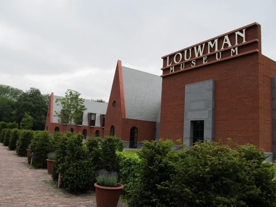 Louwman museum entree gebouw