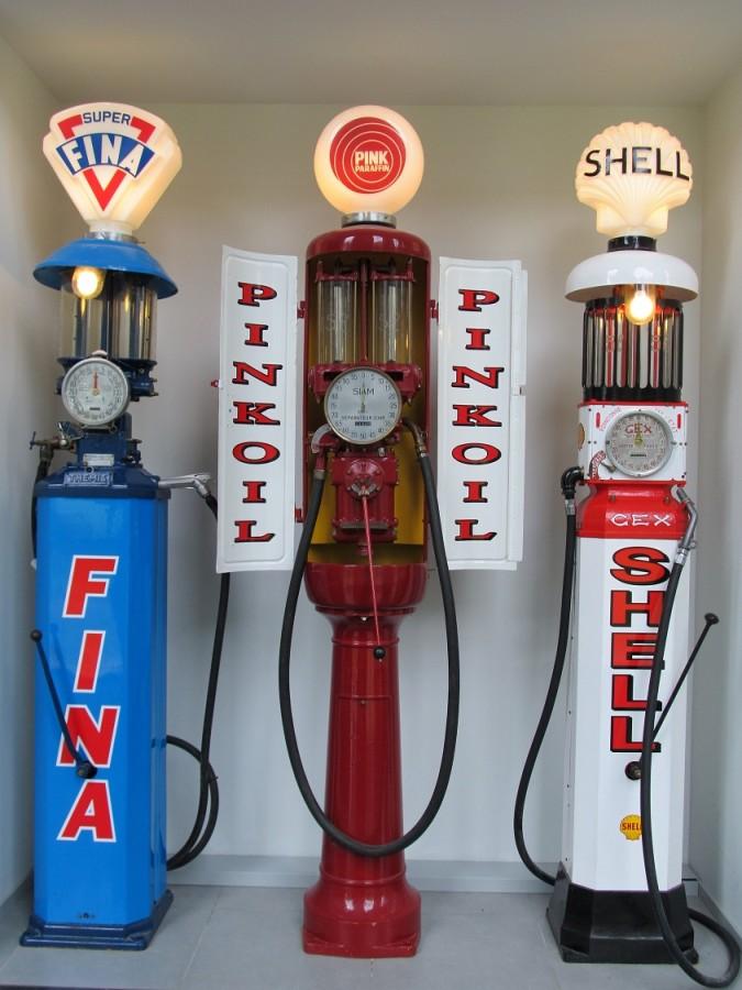 Louwman museum oude benzinepompen