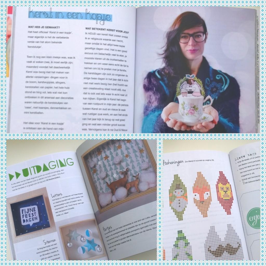 Maakmagazine kerst inhoud