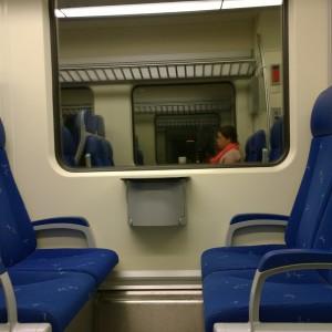 Me time in de trein