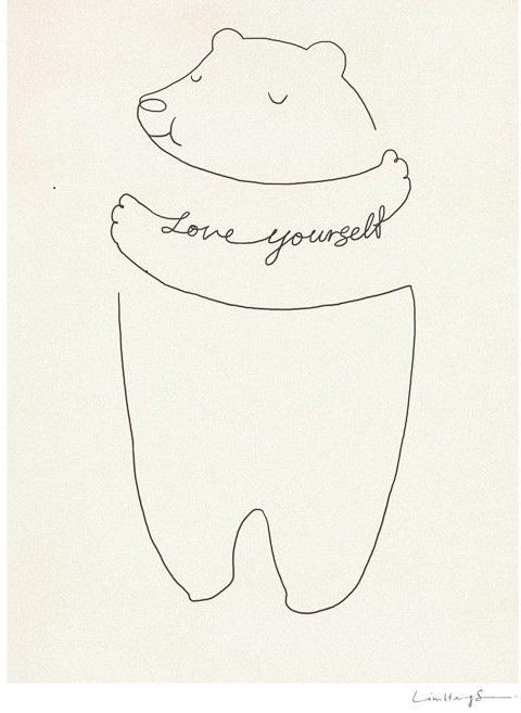 Mindfulness spreuk love yourself