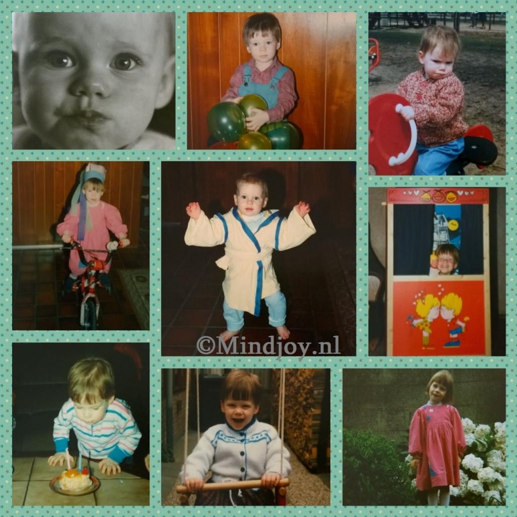 Mindjoy collage kinderfoto's