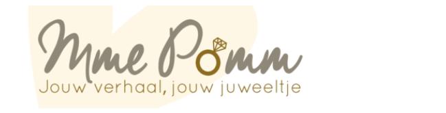 Mme Pomm header webshop