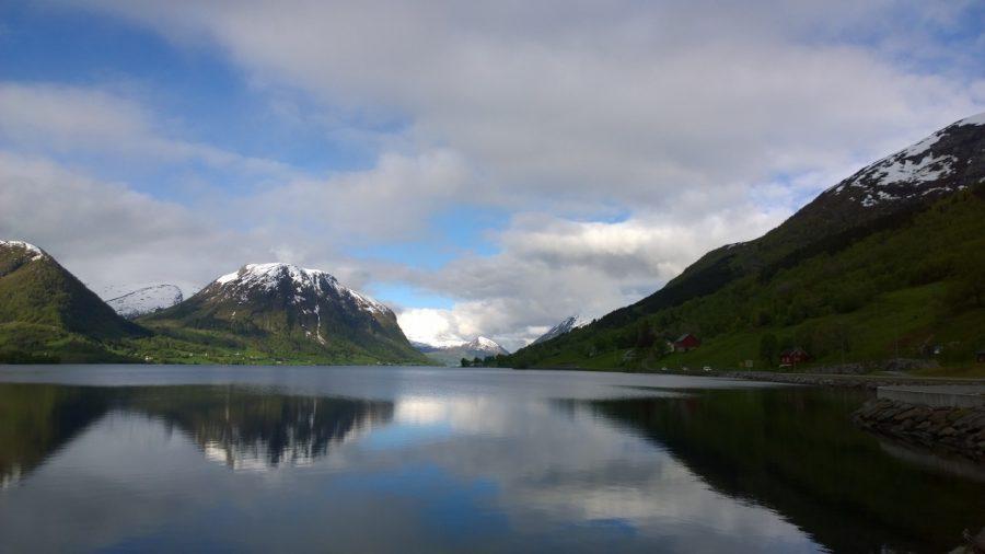 Mooiste plek op aarde Skei Noorwegen