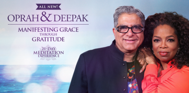 Oprah Deepak meditation 21 day experience