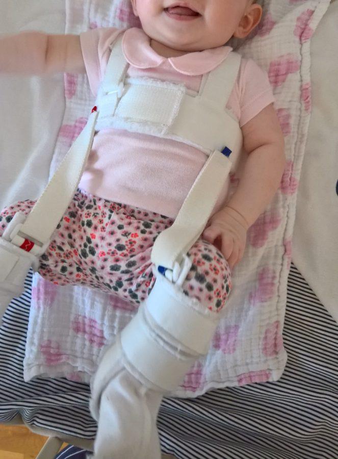 Pavlik bandage spreidbroek dochter mindjoy